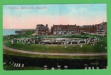 The Oval, Clifftonville, Margate, Kent. Postcard is dated 1908