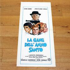 GANG DELL'ANNO SANTO locandina poster affiche Jean Gabin Brialy L'année sainte