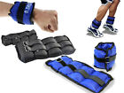 WRIST ANKLE WEIGHTS EXERCISE FITNESS GYM RESISTANCE STRENGTH TRAINING STRAPS