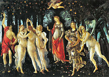 Botticelli 1445-1510 la primavera viejo maestro en Lona Studio Art Collection UK
