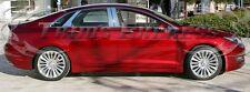 2013-2016 Lincoln MKZ MK-Z 6Pc w/Kaypad Cutout Chrome Pillar Post Stainless