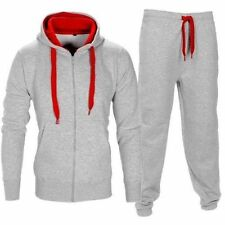 Brand New Men's Boys Luxuary Fleece Zip up Full TrackSuit Jogging Bottom Hoodie
