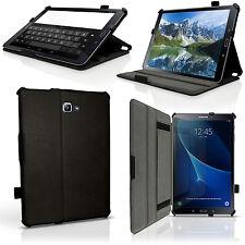 """Schwarz PU Leder Hülle Tasche für Samsung Galaxy Tab A 10.1"""" T580 Schutz Cover"""