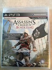 Assassin's Creed IV: Black Flag (Sony PlayStation 3 PS3, 2013) used sealed