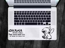 Lilo & Stitch Sticker Ohana Family Decal Apple MacBook iPad Laptop Car Window