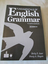 Fundamentals of English Grammar + Audio Cds, + Answer Key