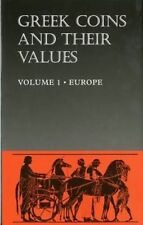 Greek Coins and Their Values: Europe v. 1, Acceptable, Sear, David R., Book