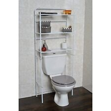 Meuble WC metal BLANC