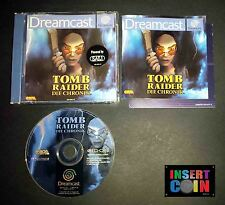JUEGO DREAMCAST TOMB RAIDER CHRONICLES (PAL ALEMÁN!!)