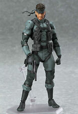 Figma 243 Solid Snake Metal Gear Solid 2 PVC Action Figure In Box a