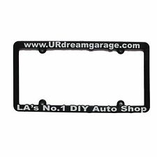 Your Dream Garage Los Angeles Do It Yourself Auto Shop License Plate Frame