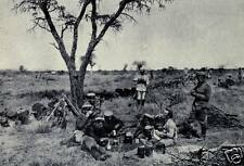 "German Army Soldiers in German Southwest Africa World War 1 6x4"" Repro Photo a"
