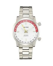 Jack Spade Clarkson Dual Time White Men's Watch, 43mm GIFT NIB $528