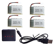 HB HOMEBOAT® Syma X5 X5C X5C-1 X5SC X5SW Parts 3.7V 600mAh 20C Lipo Battery