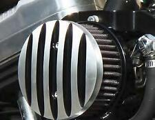 West-Eagle Motorcycle Products - BSL022A - Bossley Air Cleaner, Black Fins
