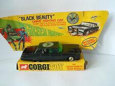 "EARLY CORGI  BLACK BEAUTY "" THE GREEN HORNET ""WITH INNER BOX TRAY VGC 1960s"