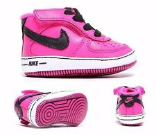 Nike Air Toddler Infant GIRLS Air Force One Basketball Crib Shoes Size 2c