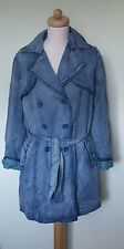 Escandelle double breasted denim coat,Bnwt