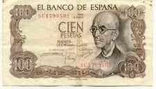 ESPAGNE SPAIN ESPANA 100 PTS 1970 état voir scan 502