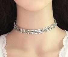 European Fashion Geometry Rhombus Collar Choker Bib Short Chain Wide Necklace