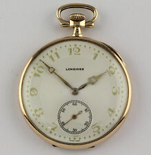 Longines Taschenuhr 14k Gold 1916 HJW Frack Uhr Pocket Watch Dress watch
