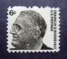 Sc #1284 ~ 6 cent Prominent Americans Issue, Franklin D. Roosevelt