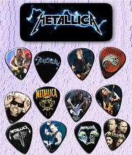 METALLICA -- Guitar Pick Tin includes 12 Guitar Picks