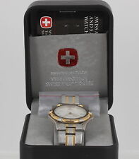 SWISS IN BOX  MILITARY S.A.K. DESIGN MEN'S WRISTWATCH WORKS! 9104