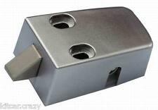 INTERIOR 3 POINT T-LOCK DOOR ADDITIONAL CATCH , SILVER, MOTORHOME, CARAVAN,