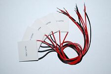 5PCS 12V 60W TEC1-12706 Heatsink Thermoelectric Cooler Peltier Cooling  A015
