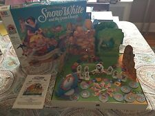 Snow White and the Seven Dwarfs Board Game MB 100% Complete Vintage 1992 Disney