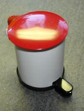 Mülleimer aus Metall ca. 3,5 cm (h)  Puppenstube 1:12