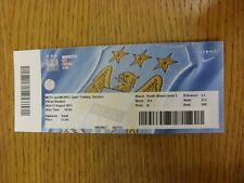 12/08/2015 Ticket: Manchester City & Manchester City Women - Open Training Sessi