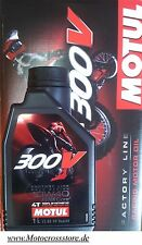 Motul 300V Off Road Racing 10W40 Factory Motorenöl Honda CRF CR-F 250 450