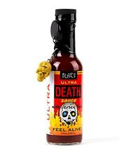 Blair's Ultra Death Sauce with Jersey Fury & with Skull Key Chain - 5 oz