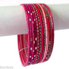 Indian Bracelets Set Ø6,2in Arm Jewellery Bollywood Anarkali Sari Salwar