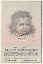 Union Card Co. - Immitation Autumn Leaves - Trade Card 4 - Montpelier, VT