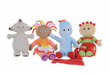 "NEW OFFICIAL 10-12"" PLUSH SOFT TOYS SET OF 4 FROM IN THE NIGHT GARDEN"