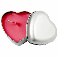 NEW Heart Shaped Candle Romantic Decoration Mothers  Day Birthday Party Home uk