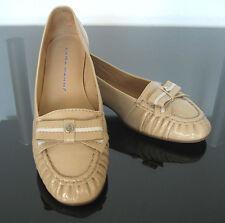 Lara Manni italiana de diseño zapatos bailarinas cuero genuino charol óptica cuero 37
