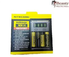 NiteCore i4 Intellicharge Universal Battery Charger CR123A 26650 18650 AA/AAA UK