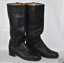 Stove Pipe Boots - Size 14 - Black Leather - L@@K!!
