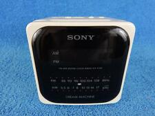 VINTAGE 80s SONY DREAM MACHINE CUBE ALARM CLOCK RADIO  ICF C-120