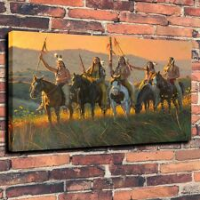 Canvas Prints Oil Painting Boundaries Keeper Morning Home Decor (Unframed)