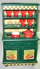 HARVEST HOME COLLECTION HUTCH  DOLLHOUSE FURNITURE MINIATURES