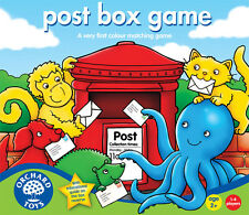 Orchard Toys 037 Post Box Game Kids Childrens Toddler Fun Learning Game 2 Yrs +
