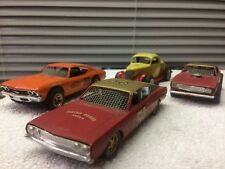 AMT Mini Kits Lot Of 4 Cars Dirt Trackers TORINO CHEVELLE CAMARO CHEVY COUPE