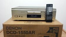 Denon DCD-1550AR Gold High-End CD-Player *2 x PCM61P Burr Brown DAC*