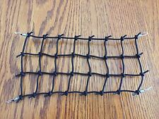 "NEW SIZE..7.5""X 4.5"" Scale Roof Cargo Elastic Net For AXIAL RC4WD BLACK Proline"