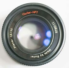 Rollei HFT Zeiss Planar 50mm f/1.8 Manual Lens Converted to Canon EOS Mount